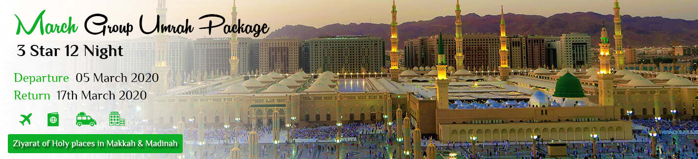 March Group Umrah Packages